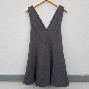 Free People Other - Free People | Wool Blend Jumper Dress in Gray